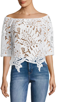 Tracy Reese Women's Off The Shoulder Top