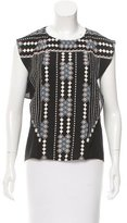 BCBGMAXAZRIA Printed Sleeveless Top w/ Tags