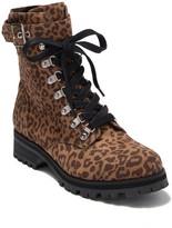 Abound Victor Leopard Print Combat Boot