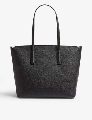 Kate Spade Margaux grained leather tote bag