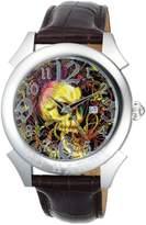 Ed Hardy Men's RE-SK Revolution Skull Stainless Steel 316L Watch