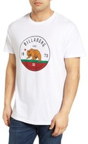Billabong Men's Grizzly Ca Graphic T-Shirt