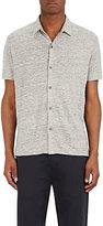 Theory Men's Linen Button-Front Shirt