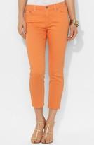 Lauren Ralph Lauren Modern Straight Leg Crop Jeans (Petite)