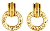 Chanel Open Circle Earrings