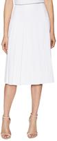 Alice + Olivia Joann Pleated Midi Skirt