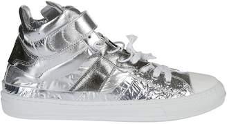 Maison Margiela Logo Hi-Top Sneakers