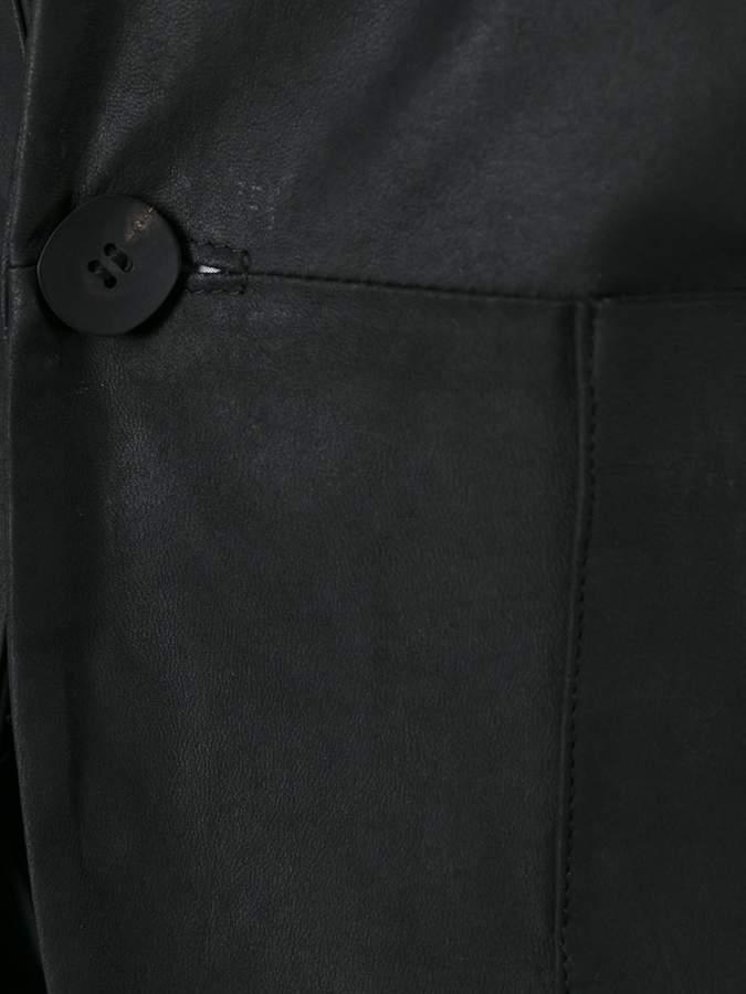 Giorgio Brato leather blazer