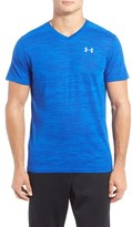 Under Armour Men's 'Streaker Run' Microthread V-Neck T-Shirt