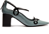 FABRIZIO VITI Round 'N' Round patent-leather pumps