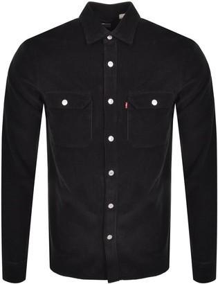 Levi's Levis Jackson Worker Long Sleeve Shirt Black