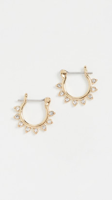 Luv Aj The Gloria Diamonte Hoops