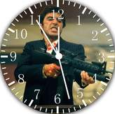 "Ikea Scarface Wall Clock frame 10""Nice Gift Wall Decor E26"