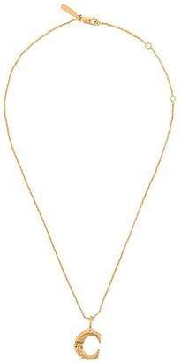 Chloé letter C pendant necklace