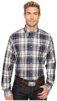 Cinch Long Sleeve Plain Weave Print