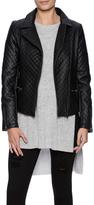 Adore Asymmetric Quilt Jacket