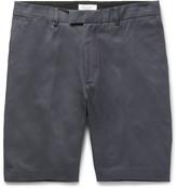 Enlist - Adam Slim-fit Cotton Oxford Chino Shorts