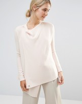 Ted Baker Wrap Oversized Knitted Sweater