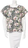 Emma Cook Short Sleeve Floral Print Top