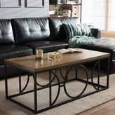 Baxton Studio Palmer Industrial Coffee Table