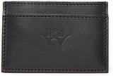Edwin Black Leather Card Holder