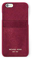 MICHAEL Michael Kors Saffiano Pocket iPhone 6/6s Case