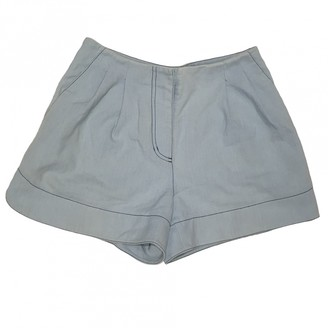 3.1 Phillip Lim Blue Denim - Jeans Shorts for Women
