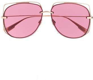 Christian Dior DiorStellaire6 oversized-frame sunglasses