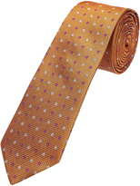 Oxford Silk Tie Floral Grid