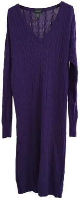 Lauren Ralph Lauren Purple Wool Dress for Women
