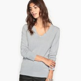 Anne Weyburn Soft V-Neck Jumper