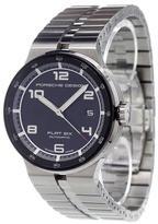 Porsche Design 'Flat Six' analog watch