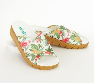 Alegria Dream Fit Adjustable Slide Sandals- Airie