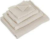 UCHINO Zero Twist Gauze Dot Towel - Beige - Bath Sheet