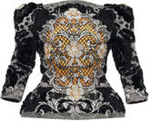 Mary Katrantzou Beth Embroidered Georgette Top