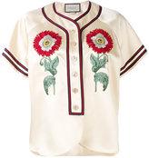 Gucci Duchesse blouse - women - Polyamide/Acetate - 42