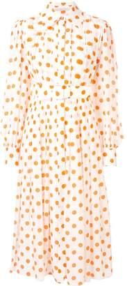 Emilia Wickstead Anatola polka dot shirt dress
