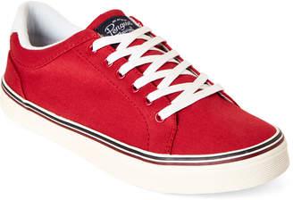 Original Penguin Red Colt Canvas Low-Top Sneakers