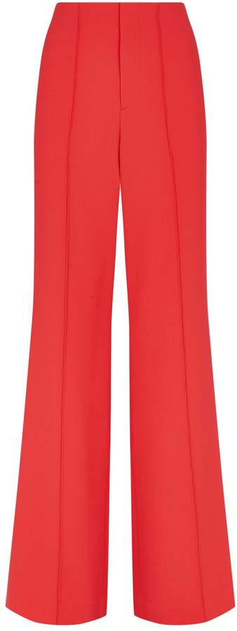 Alice + Olivia Dylan Wide-Leg Trousers