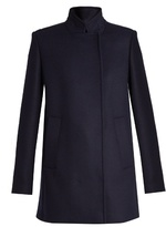 Proenza Schouler Stand-collar double-breasted coat