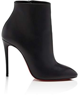 Christian Louboutin Women's Eloise Leather Ankle Boots - Black