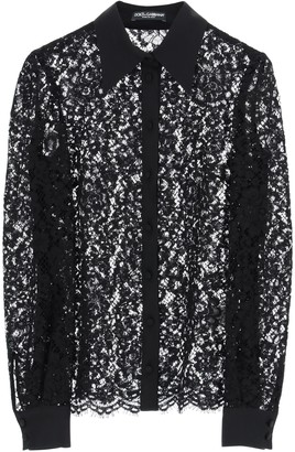 Dolce & Gabbana Cordonet Lace Shirt