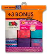 Fruit of the Loom Girls' Hipster Briefs - 4