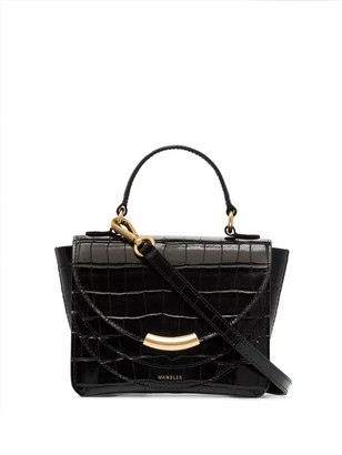 Wandler Luna crocodile effect mini tote bag