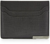 Tod's Tod\'s Textured Leather Card Holder