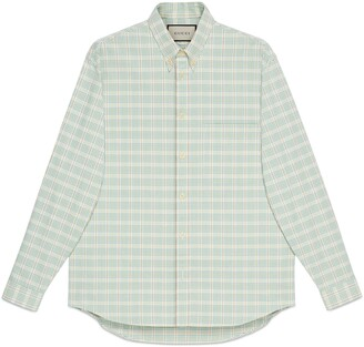 Gucci The North Face x button-down shirt
