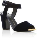 Giuseppe Zanotti Lavinia Velvet Sandals