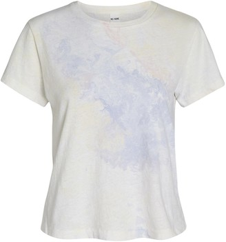 RE/DONE Marble Tie-Dye T-Shirt
