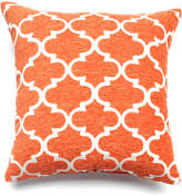 Spencer Home Decor Club Lattice Throw Pillow