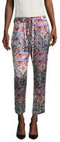 L'Agence Madaline Paper Waist Silk Pants
